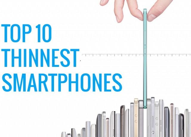 thinnest smartphones